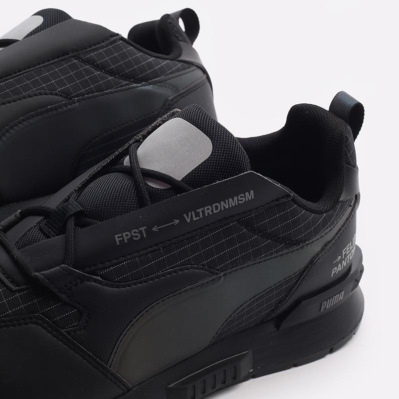 мужские черные  кроссовки puma mirage mox tech fp 37563501 - цена, описание, фото 7