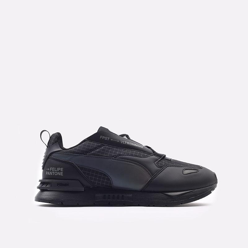 мужские черные  кроссовки puma mirage mox tech fp 37563501 - цена, описание, фото 1
