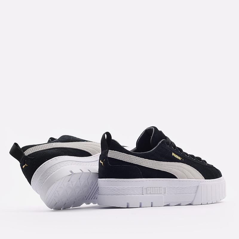 женские черные  кроссовки puma mayze wn`s 38078401 - цена, описание, фото 3