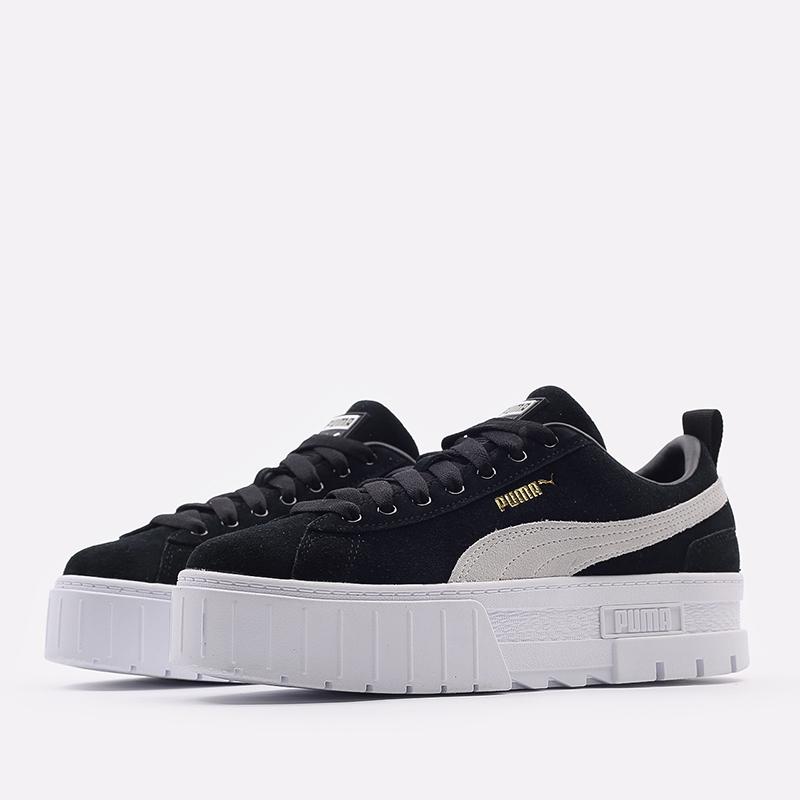женские черные  кроссовки puma mayze wn`s 38078401 - цена, описание, фото 2