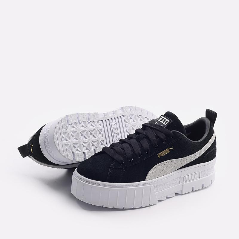 женские черные  кроссовки puma mayze wn`s 38078401 - цена, описание, фото 4