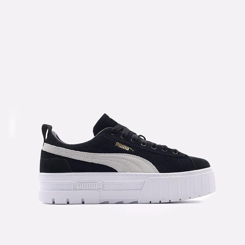 женские черные  кроссовки puma mayze wn`s 38078401 - цена, описание, фото 1