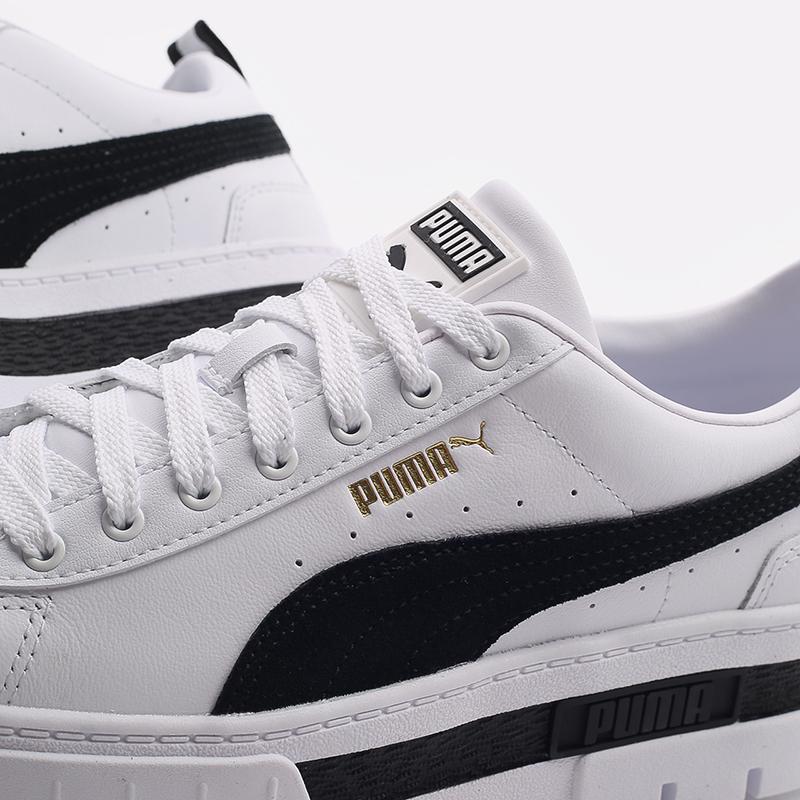 женские белые  кроссовки puma mayze lth wn`s 38198301 - цена, описание, фото 6