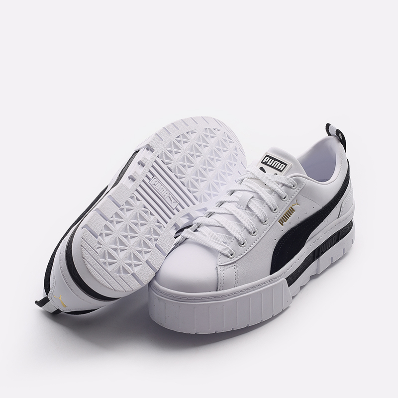 женские белые  кроссовки puma mayze lth wn`s 38198301 - цена, описание, фото 5