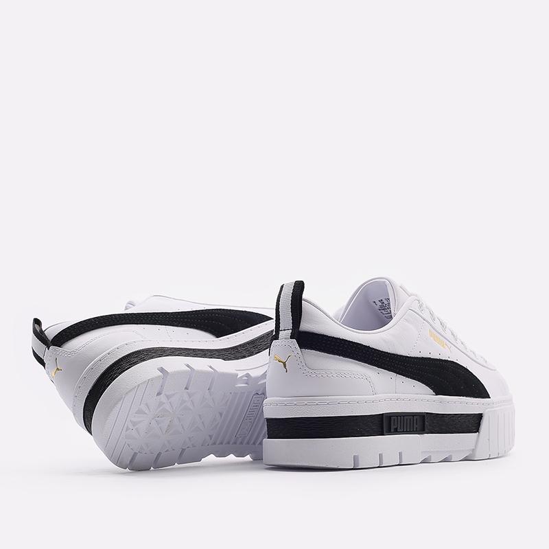 женские белые  кроссовки puma mayze lth wn`s 38198301 - цена, описание, фото 3