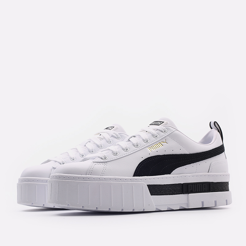 женские белые  кроссовки puma mayze lth wn`s 38198301 - цена, описание, фото 2