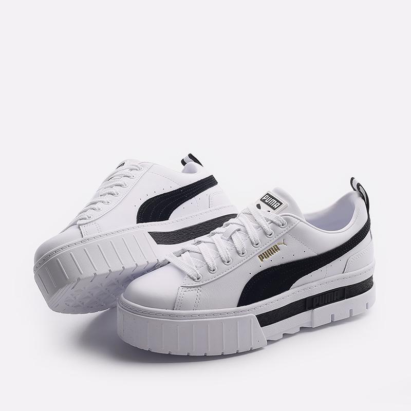 женские белые  кроссовки puma mayze lth wn`s 38198301 - цена, описание, фото 4