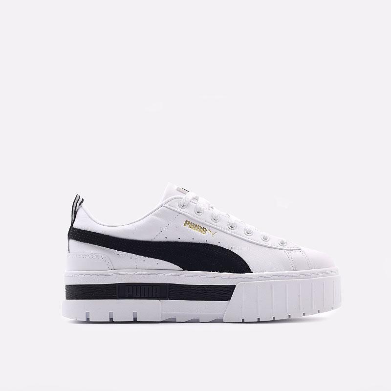 женские белые  кроссовки puma mayze lth wn`s 38198301 - цена, описание, фото 1