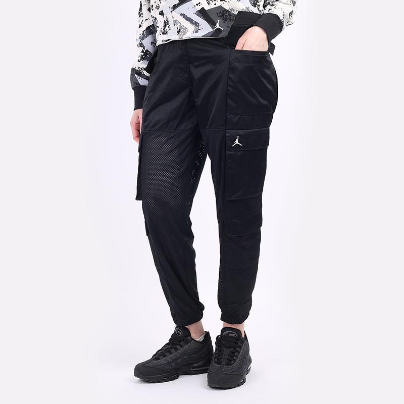 женские черные  брюки jordan heatwave women's utility pants DD0280-010 - цена, описание, фото 1