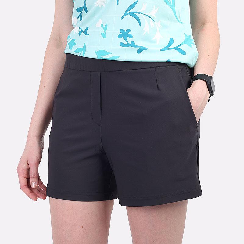 женские черные  шорты  nike flex victory women's 13cm golf shorts BV0171-010 - цена, описание, фото 1