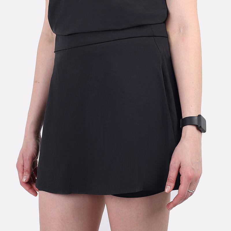 женская черная юбка Nike Flex Ace Women's 38cm Golf Skirt CU9362-010 - цена, описание, фото 1