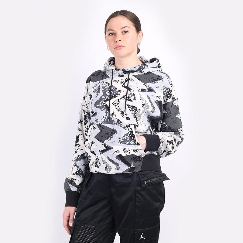 женскую серую  толстовка jordan heatwave women's hoodie DD0409-084 - цена, описание, фото 1