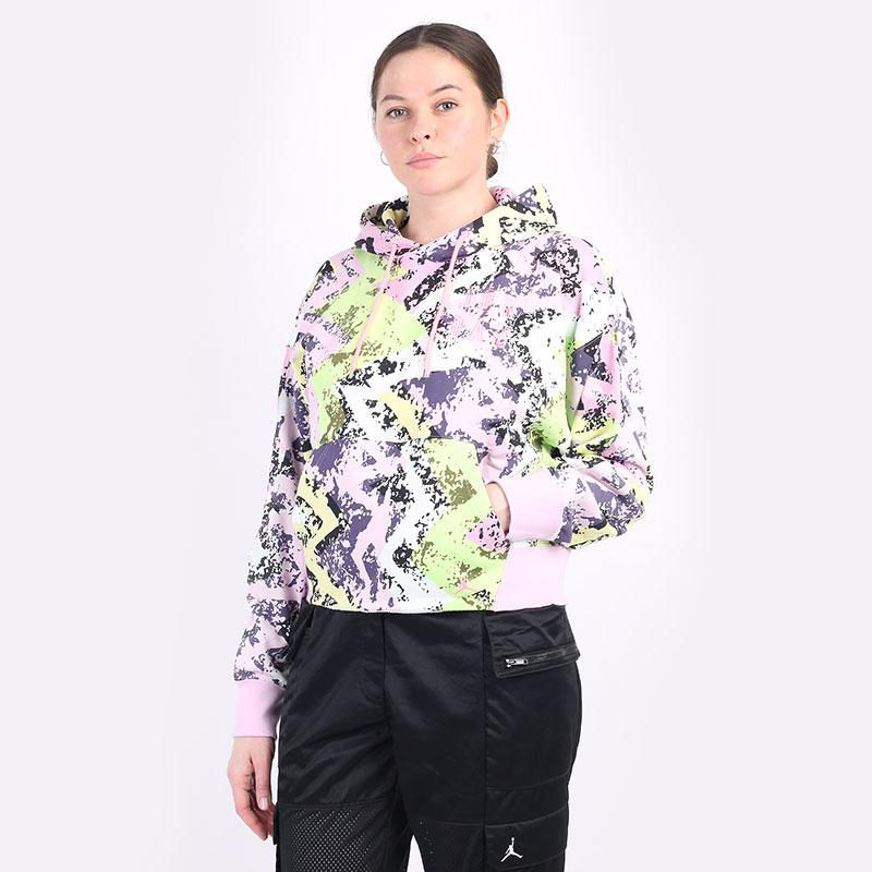 женскую разноцветную  толстовка jordan heatwave women's hoodie DD0409-676 - цена, описание, фото 1