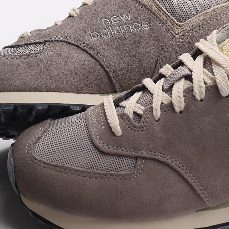 мужские бежевые  кроссовки new balance 574 C-U574GDY/D - цена, описание, фото 7
