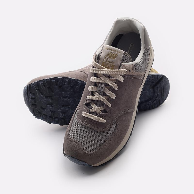 мужские бежевые  кроссовки new balance 574 C-U574GDY/D - цена, описание, фото 8