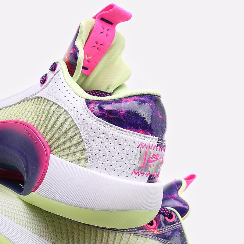 мужские разноцветные  кроссовки jordan xxxv low luka DJ9805-190 - цена, описание, фото 5