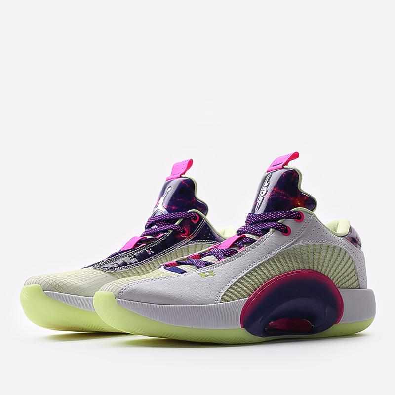 мужские разноцветные  кроссовки jordan xxxv low luka DJ9805-190 - цена, описание, фото 2
