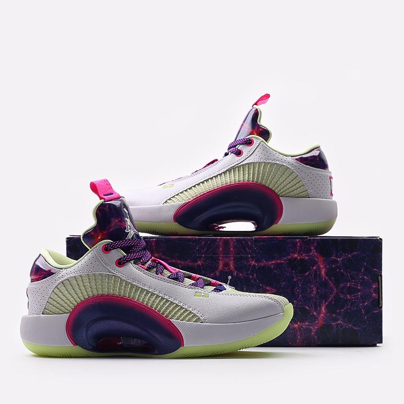мужские разноцветные  кроссовки jordan xxxv low luka DJ9805-190 - цена, описание, фото 7