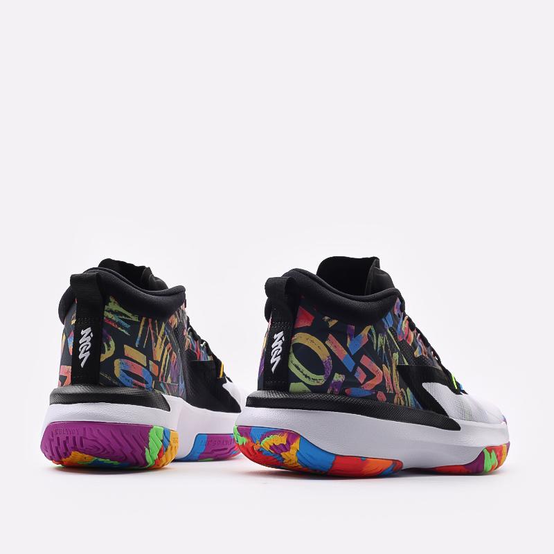 мужские черные  кроссовки jordan zion 1 DA3130-001 - цена, описание, фото 3