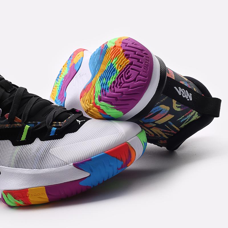 мужские черные  кроссовки jordan zion 1 DA3130-001 - цена, описание, фото 5
