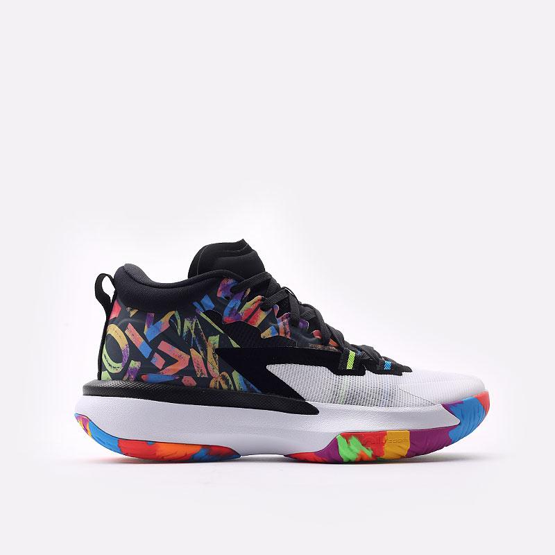 мужские черные  кроссовки jordan zion 1 DA3130-001 - цена, описание, фото 1