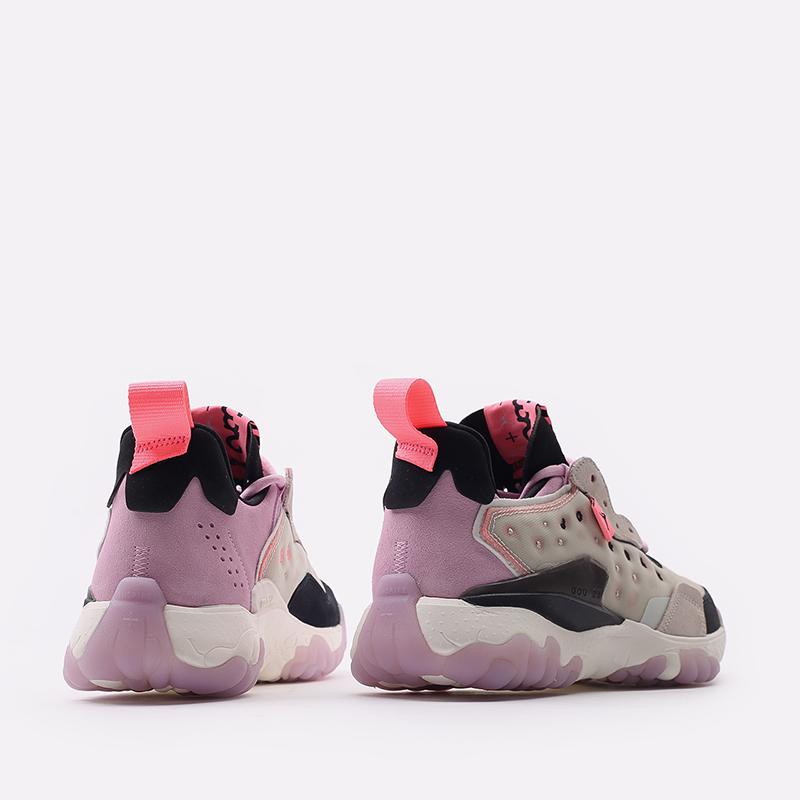 женские бежевые  кроссовки jordan wmns delta 2 CW0913-061 - цена, описание, фото 3