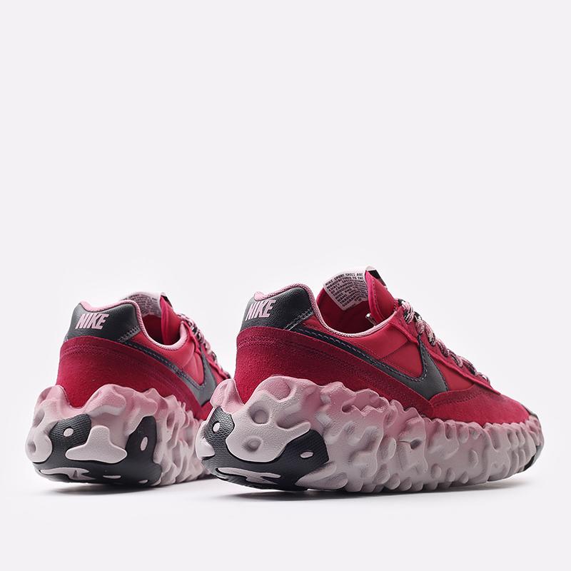 мужские красные  кроссовки nike overbreak sp DA9784-600 - цена, описание, фото 3
