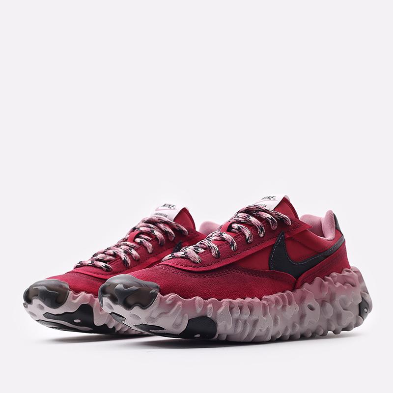 мужские красные  кроссовки nike overbreak sp DA9784-600 - цена, описание, фото 2