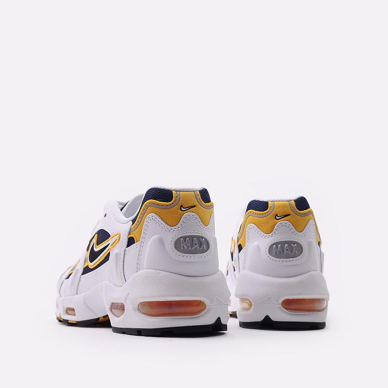 мужские белые  кроссовки nike air max 96 ii CZ1921-100 - цена, описание, фото 3