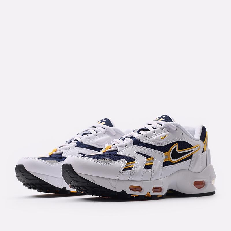 мужские белые  кроссовки nike air max 96 ii CZ1921-100 - цена, описание, фото 2