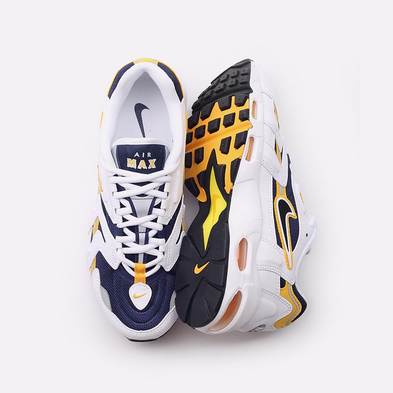 мужские белые  кроссовки nike air max 96 ii CZ1921-100 - цена, описание, фото 5