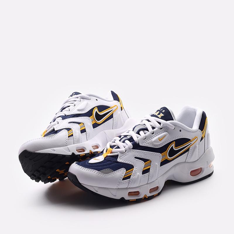 мужские белые  кроссовки nike air max 96 ii CZ1921-100 - цена, описание, фото 6