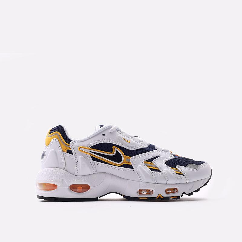 мужские белые  кроссовки nike air max 96 ii CZ1921-100 - цена, описание, фото 1