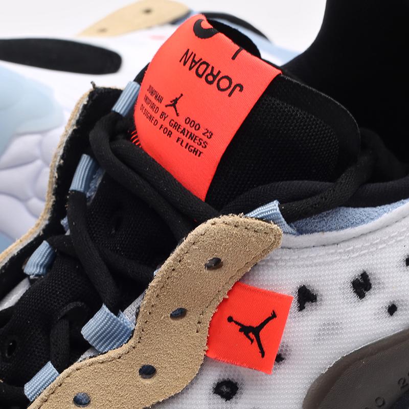 мужские чёрные, белые  кроссовки jordan delta 2 CV8121-100 - цена, описание, фото 7