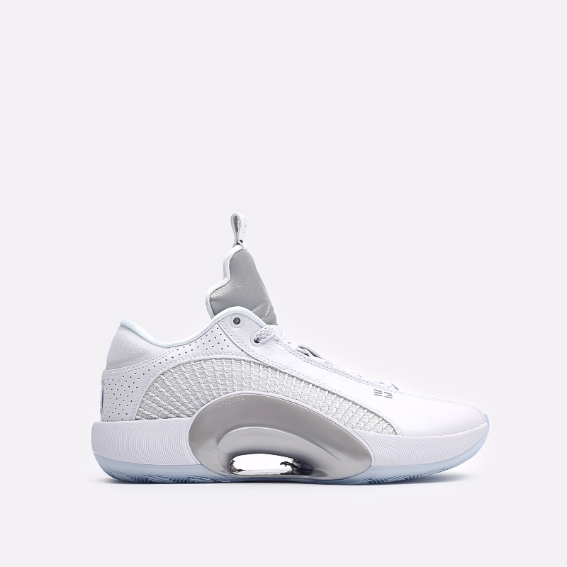 мужские белые  кроссовки jordan xxxv low CW2460-100 - цена, описание, фото 1