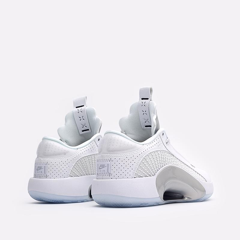 мужские белые  кроссовки jordan xxxv low CW2460-100 - цена, описание, фото 3