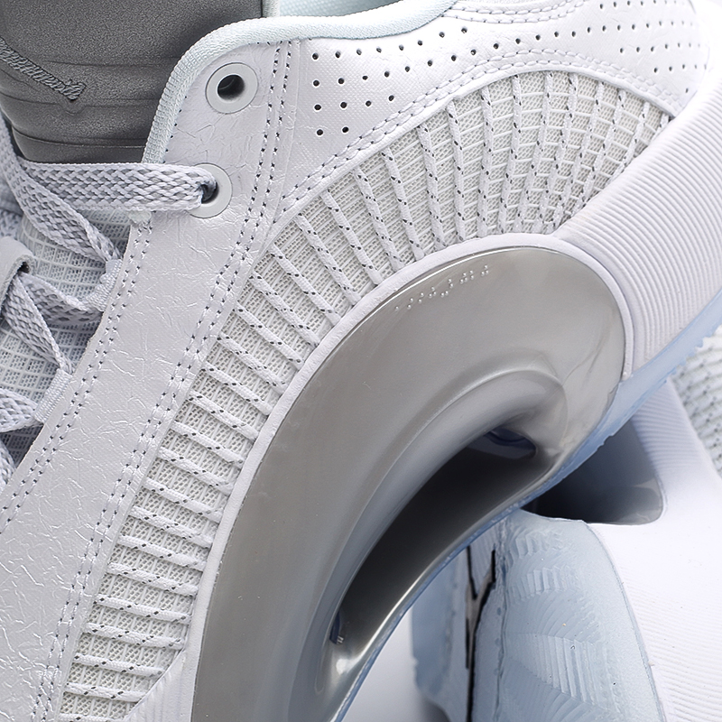 мужские белые  кроссовки jordan xxxv low CW2460-100 - цена, описание, фото 5