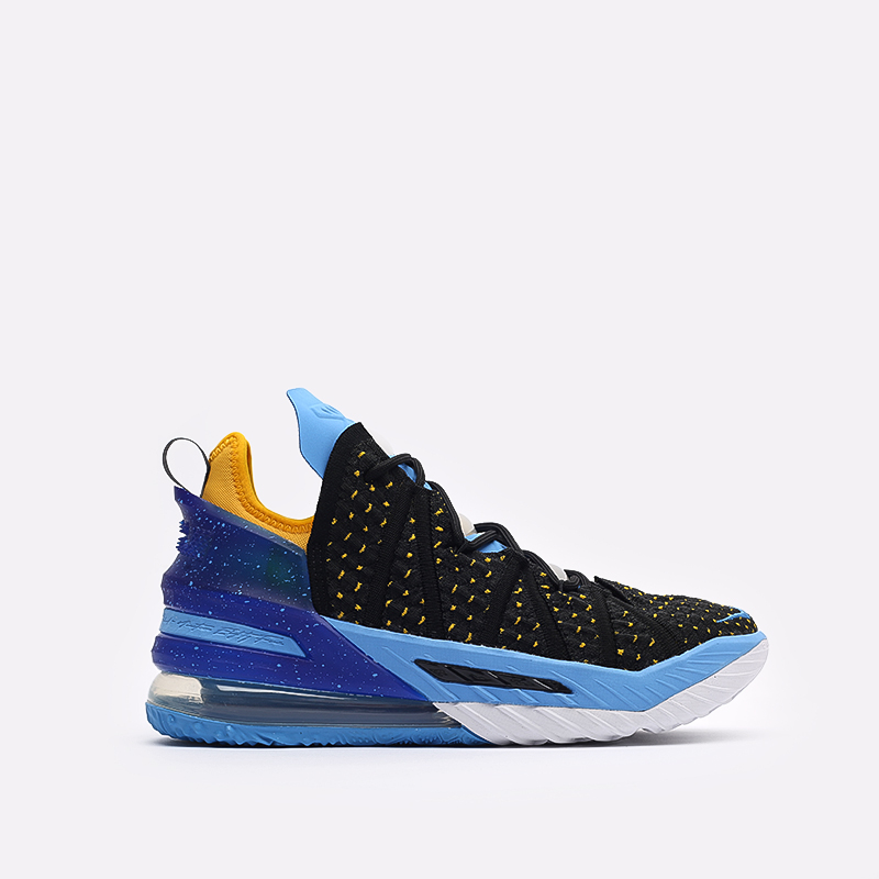 мужские черные баскетбольные кроссовки Nike Lebron XVIII CQ9283-006 - цена, описание, фото 1