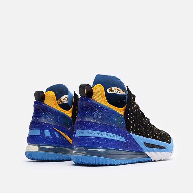 мужские черные баскетбольные кроссовки Nike Lebron XVIII CQ9283-006 - цена, описание, фото 3