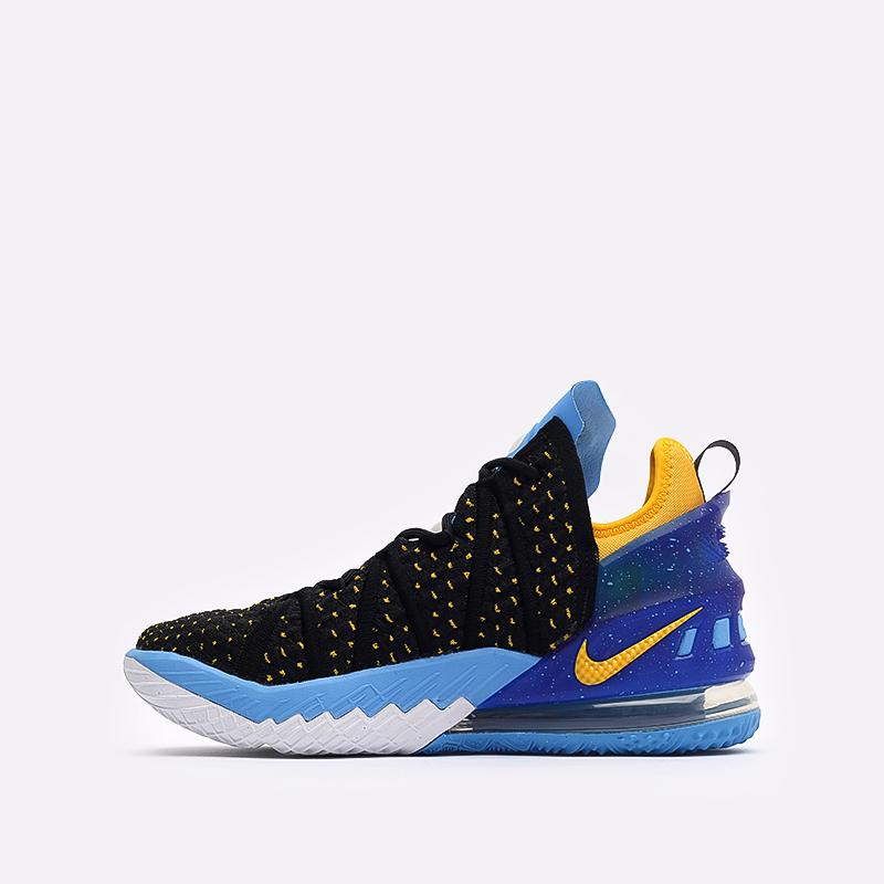 мужские черные баскетбольные кроссовки Nike Lebron XVIII CQ9283-006 - цена, описание, фото 2