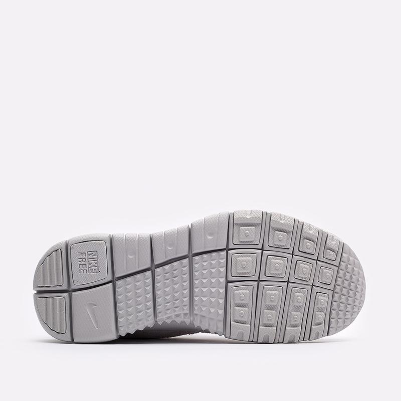 мужские бежевые  кроссовки nike free run trail CW5814-002 - цена, описание, фото 5