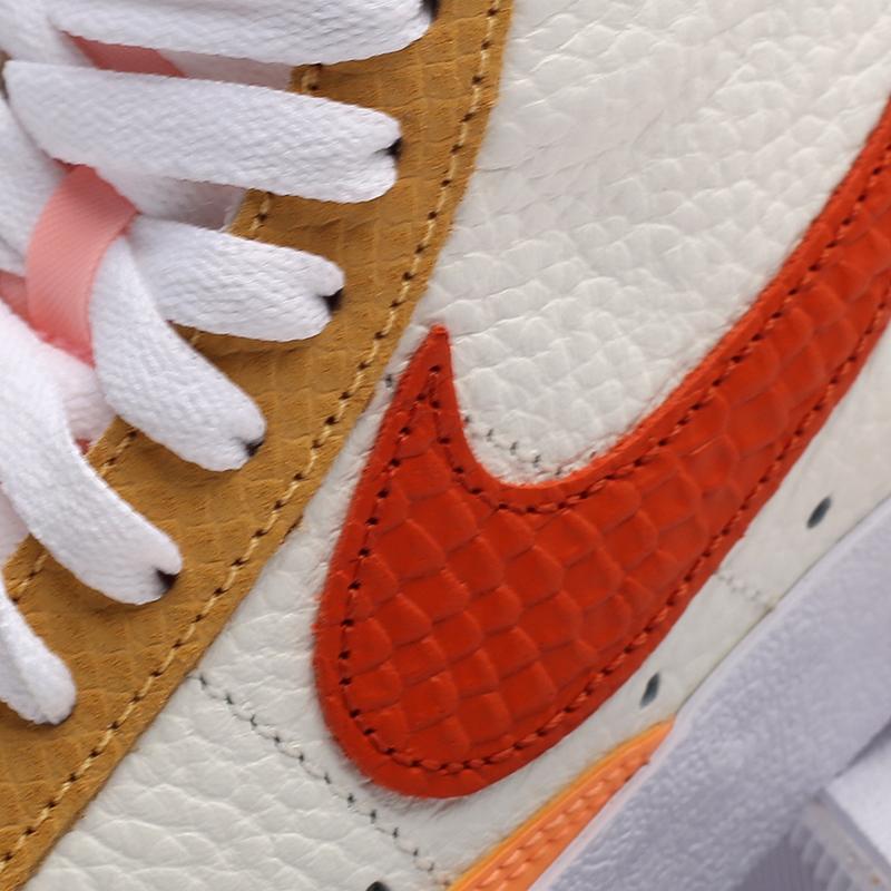 женские белые  кроссовки nike wmns blazer mid '77 DM2872-100 - цена, описание, фото 8