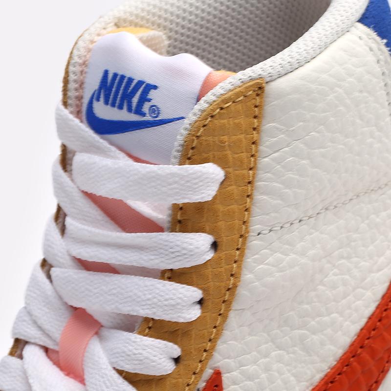 женские белые  кроссовки nike wmns blazer mid '77 DM2872-100 - цена, описание, фото 7