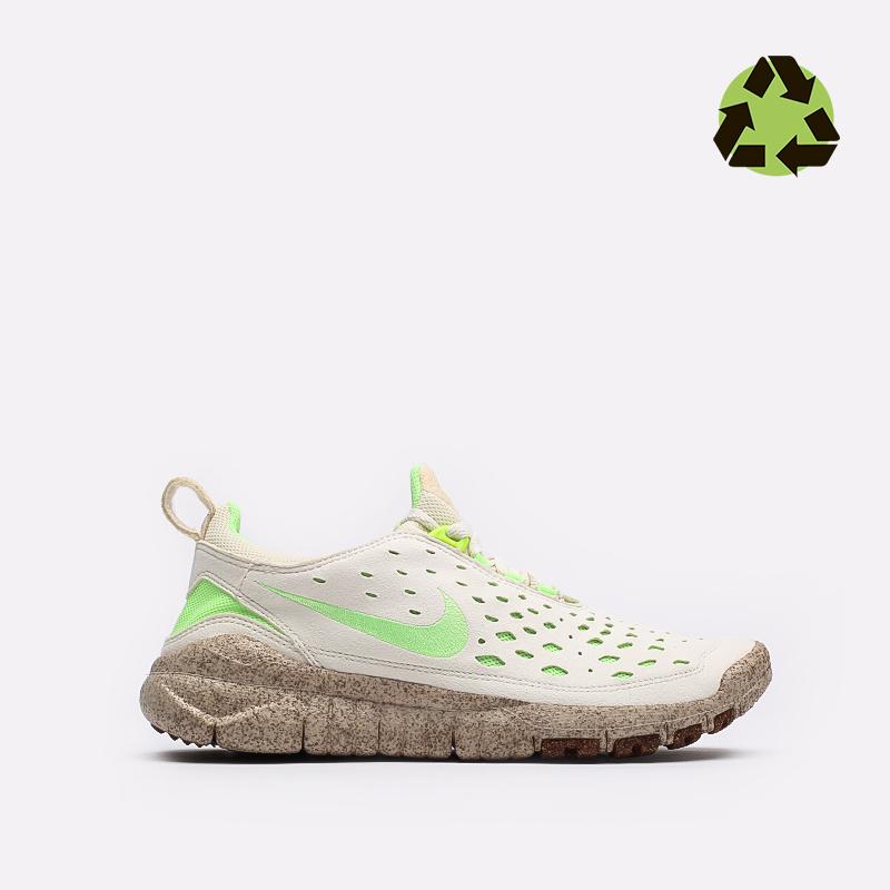 мужские бежевые  кроссовки nike free run trail prm CZ9079-100 - цена, описание, фото 1