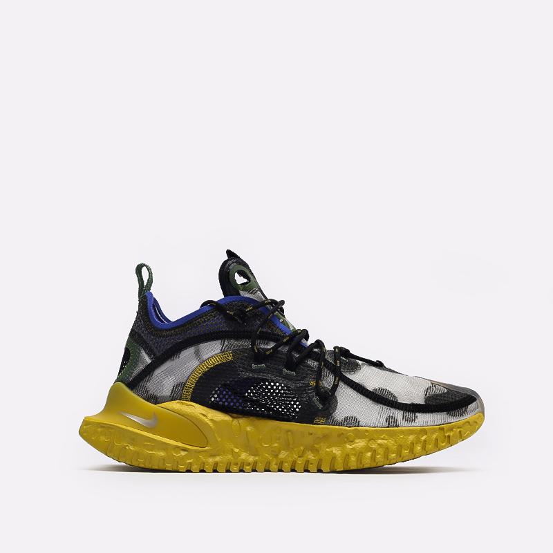 мужские серые  кроссовки nike flow 2020 ispa CI1474-200 - цена, описание, фото 1