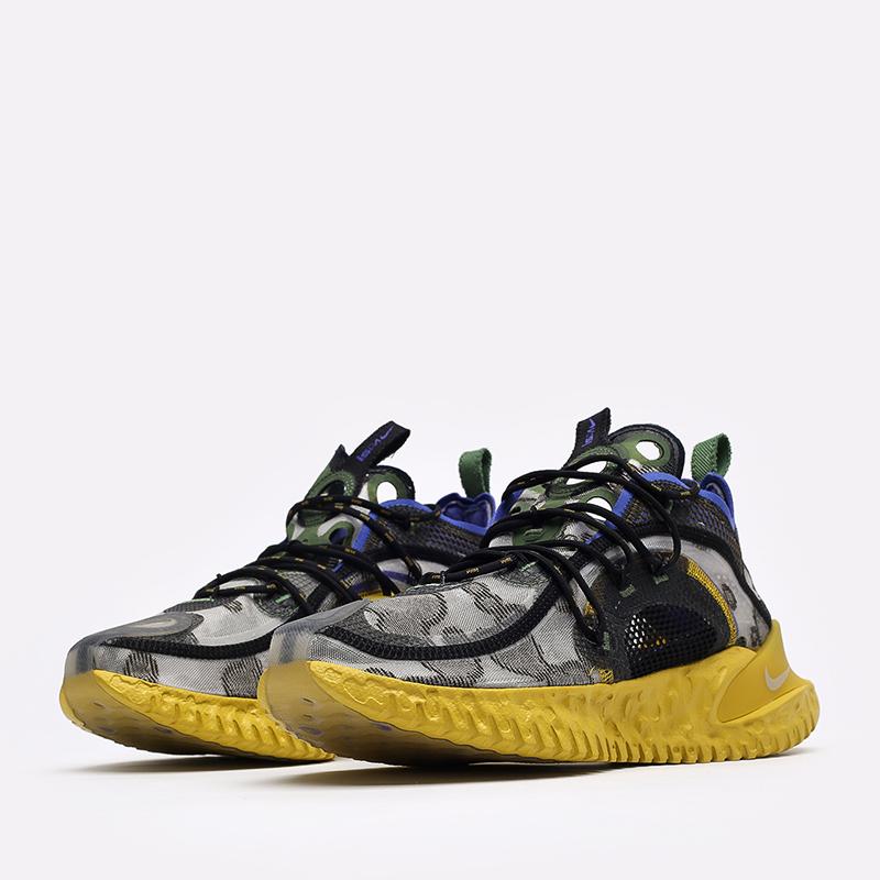 мужские серые  кроссовки nike flow 2020 ispa CI1474-200 - цена, описание, фото 4