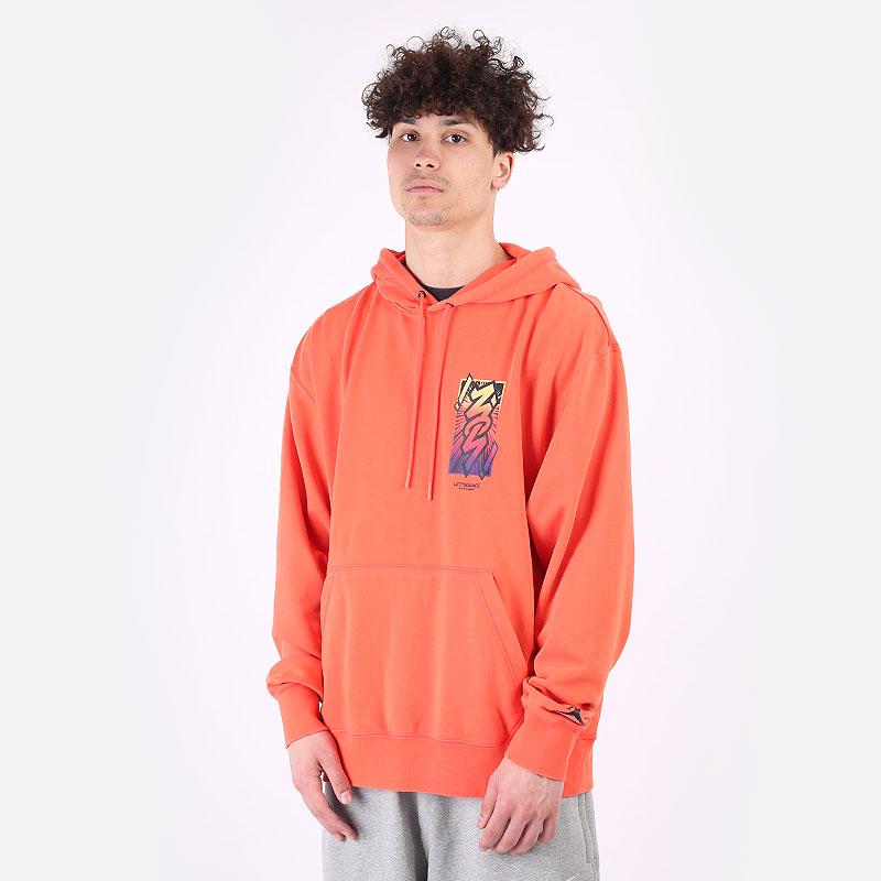 мужскую оранжевую  толстовка jordan dri-fit zion performance hoodie DH0598-635 - цена, описание, фото 1