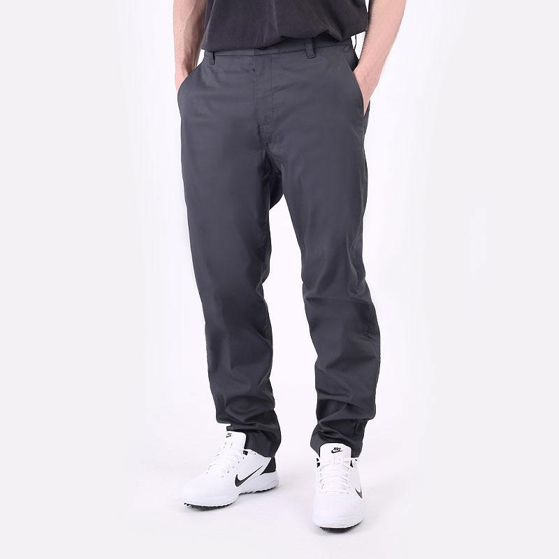 мужские серые  брюки nike dri-fit uv slim-fit golf chino pants DA4130-070 - цена, описание, фото 1