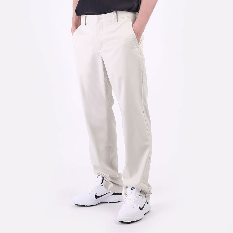 мужские бежевые  брюки nike flex golf trousers AA3318-072 - цена, описание, фото 1