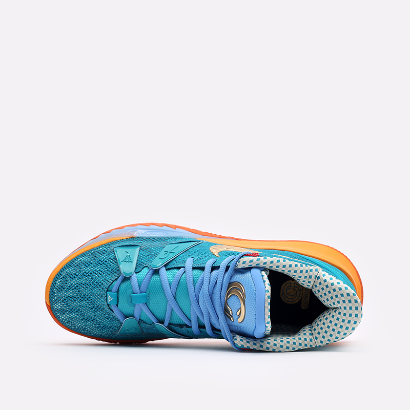 мужские голубые  кроссовки nike kyrie 7 cncpts CT1135-900 - цена, описание, фото 6